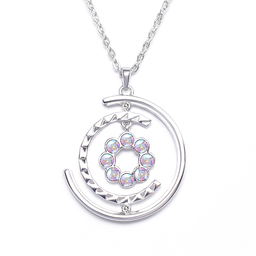 Ladies necklace Labyrinth