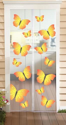 Комарник 90 х 210 с пеперуди